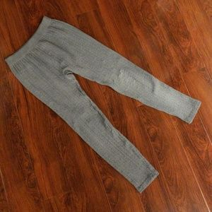 Large Gray Leggings